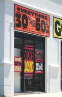 closing a retail store