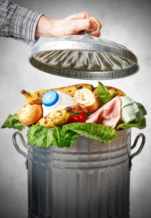 food waste from grocery stores
