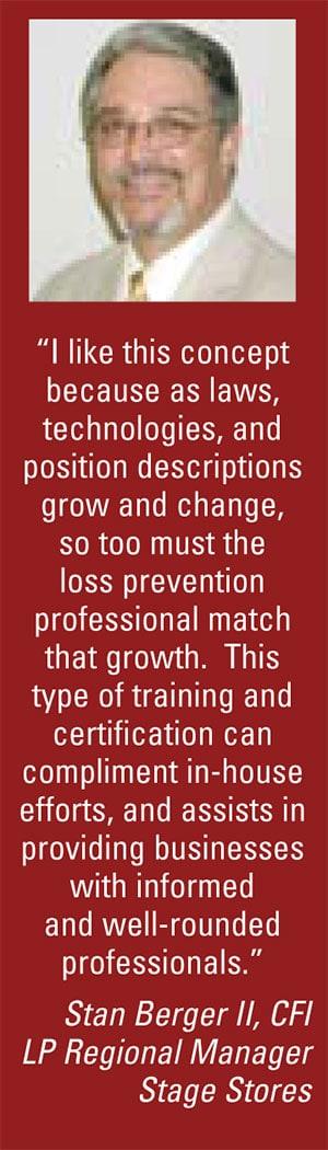 Loss Prevention Certification