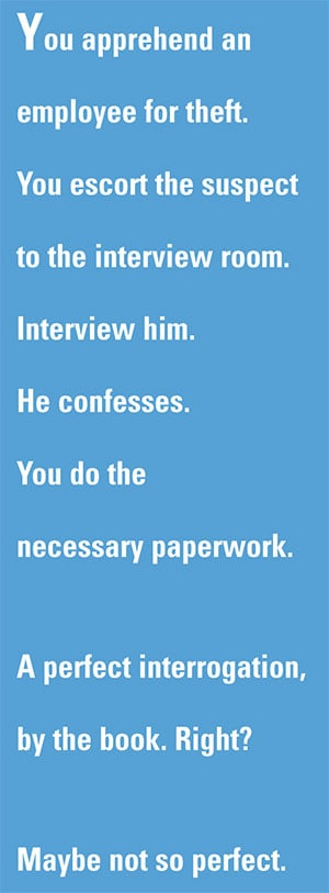 Setting a Standard in Interview and Interrogation