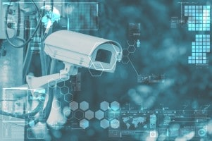 security camera, retail theft control