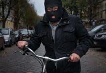 burglar bicycle ski mask