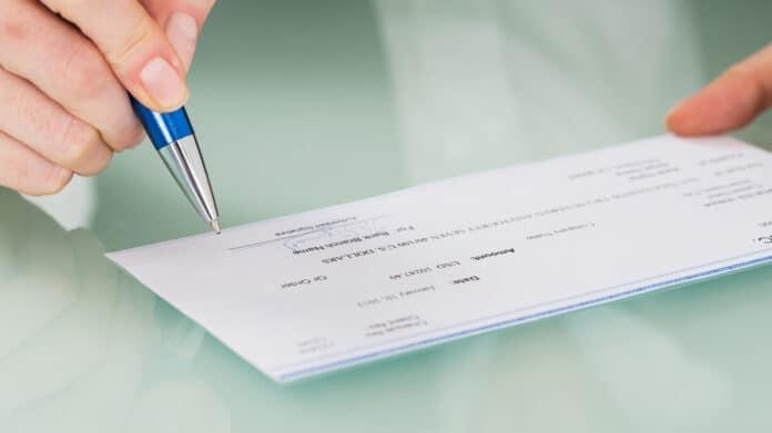 payroll check signature