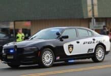 police-car-in-motion