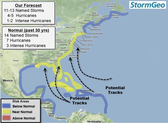 Storm Geo Weather Patterns