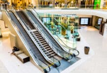 empty retail mall