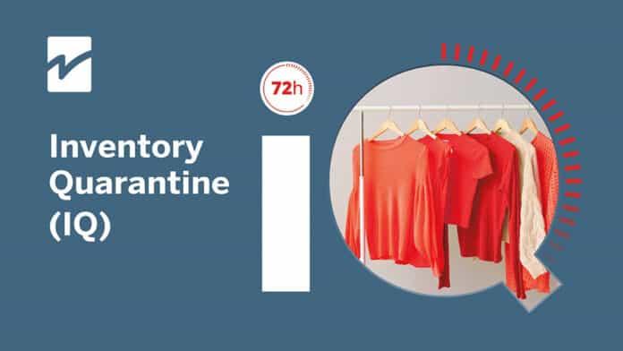 Inventory Quarentine software