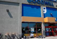 Goodwill with dumped donations