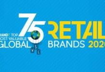 Top 75 global brands