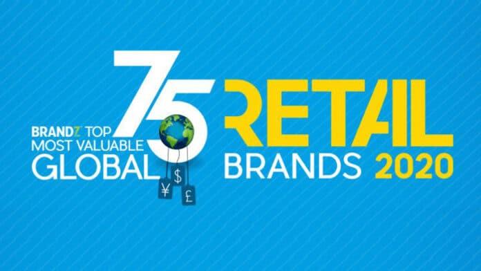 Top 75 global brands