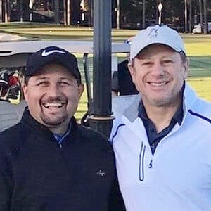 Kevin Ach with Bob Serenson at Pinehurst