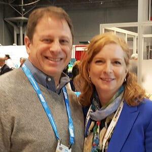 Bob Serenson with Kelli Woelfel