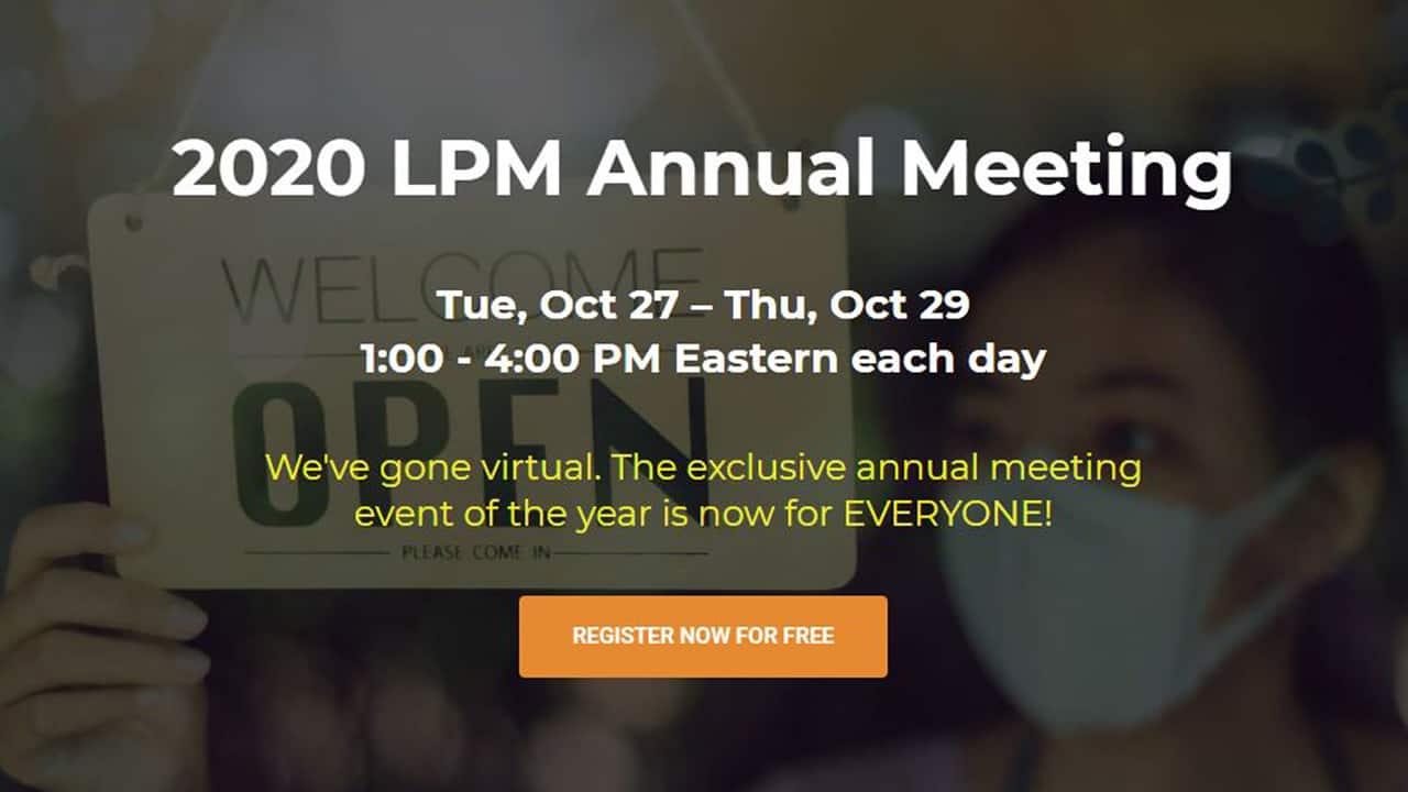 LPM Annual Meeting